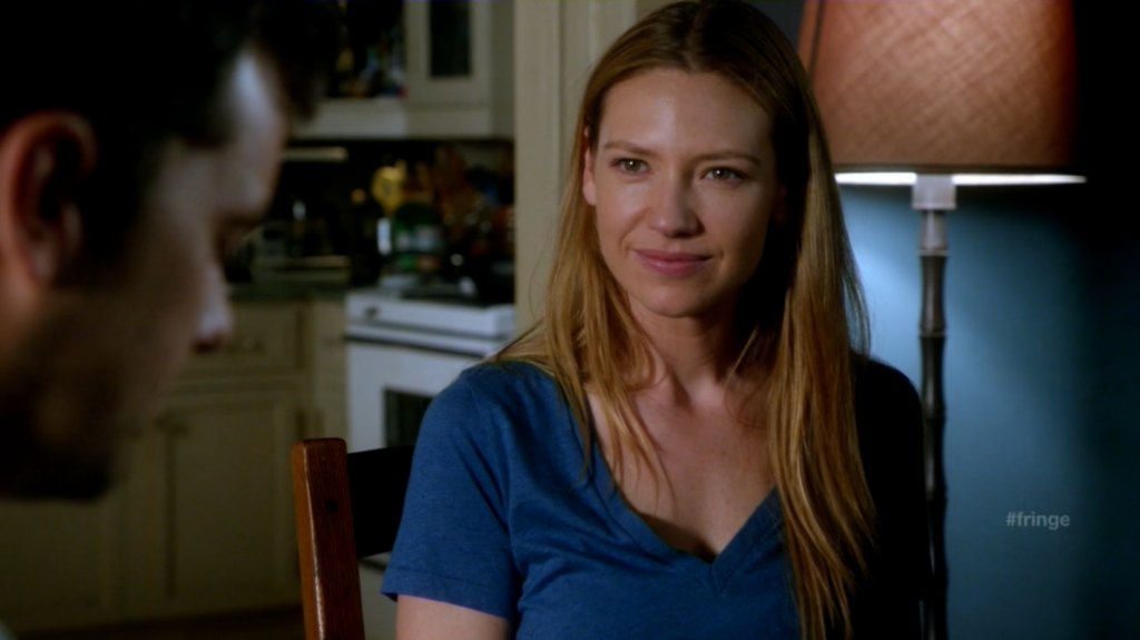 Olivia Dunham (Anna Torv) in need of waffles.