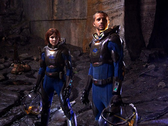 Prometheus Noomi Rapace Marshall Green