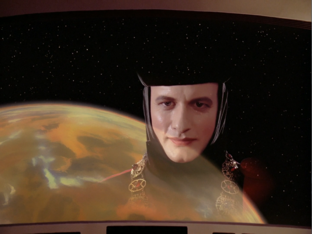 Q (played by John de Lancie)