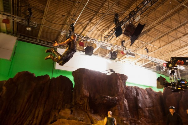 riddick set photo