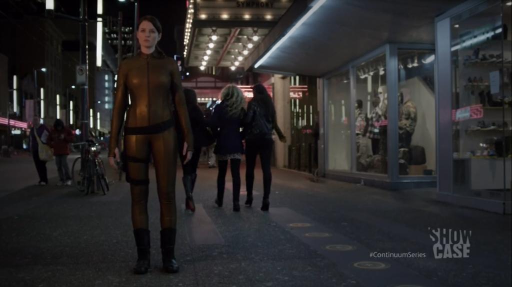 Continuum - Rachel Nichols as Kiera Cameron