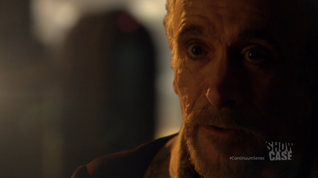 Continuum - Tony Amendola as Kagame