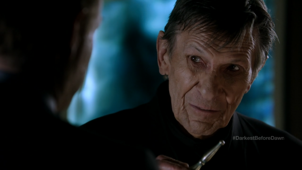 Fringe - Leonard Nimoy as William Bell