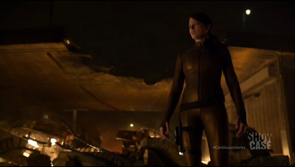 Rachel Nichols as Kiera Cameron in Continuum