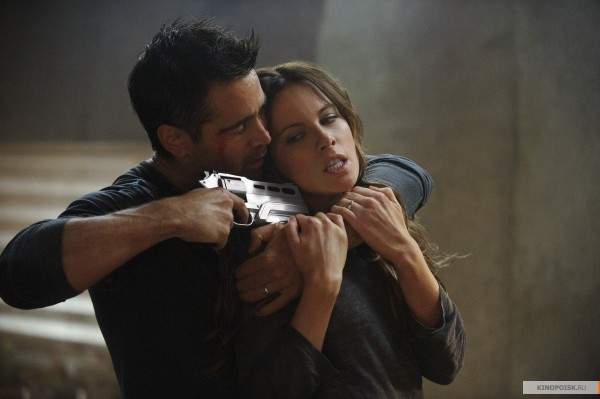 Total Recall - Colin Farrell and Kate Beckinsale