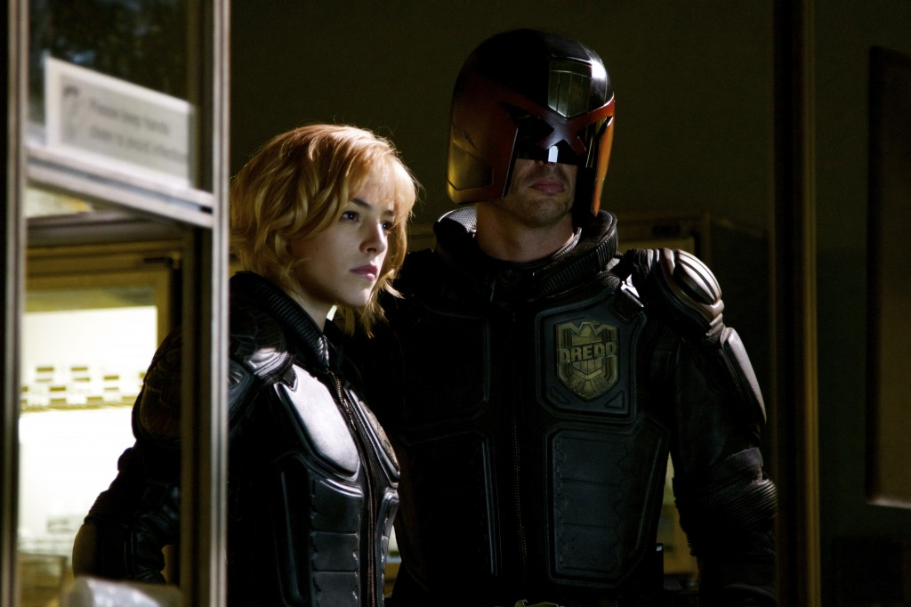 Judge Dredd and Judge Anderson - Dredd
