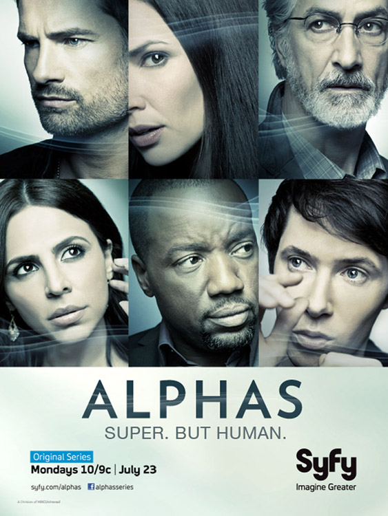 Alphas Season 2 poster