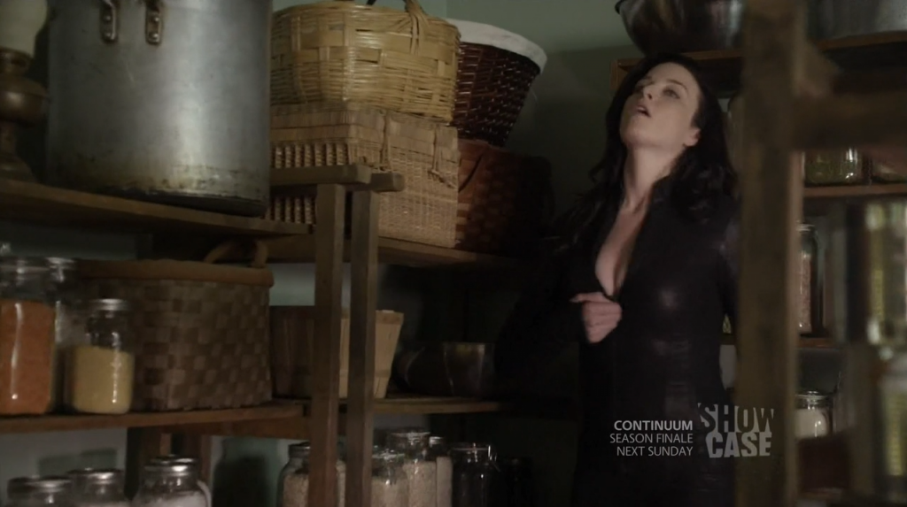 Kiera's bodysuit (Black with cleavage)
