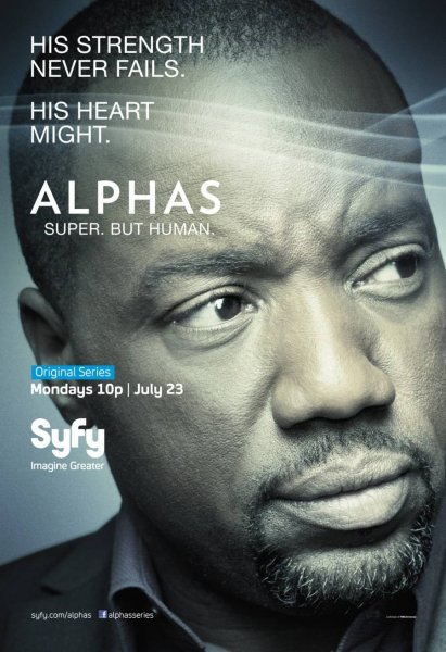 Malik Yoba as Bill Harken - Alphas