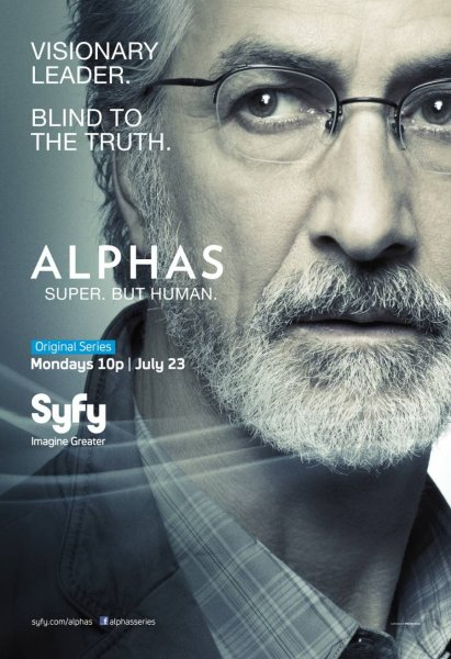 David Strathairn as Dr. Lee Rosen - Alphas