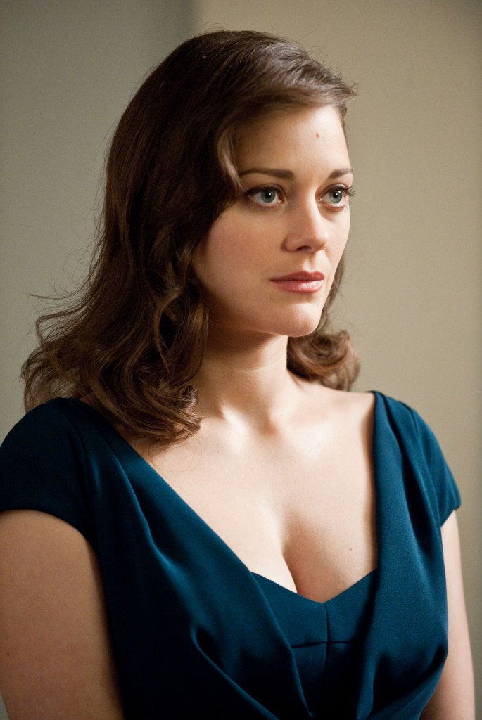 Marion Cotillard as Miranda Tate/Talia Al Ghul in The Dark Knight Rises