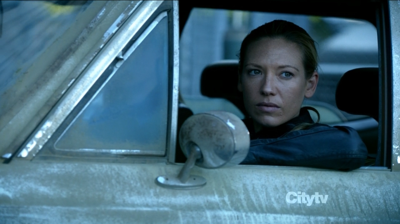 Anna Torv in Fringe The Bullet that saved the World as 'bad girl' Olivia Dunham