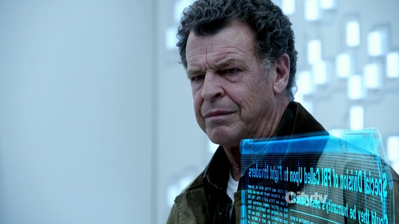 John Noble as Walter Bishop - Fringe The Recordist review