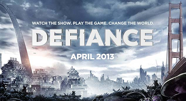 Defiance TV show Logo - Syfy Channel - defiance trailer