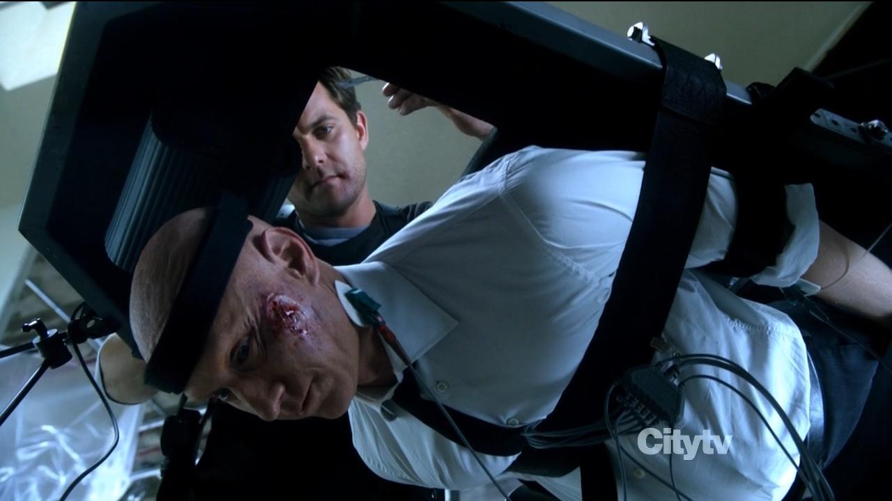 Observer being tortured - Fringe 'An Origin Story' Review