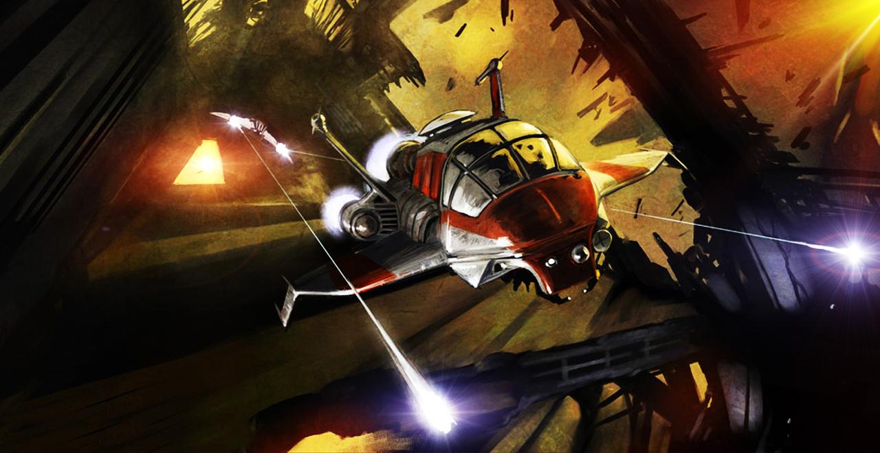 Battlestar Galactica: Blood and Chrome concept art - Battlestar Galactica: Blood and Chrome set for November 9