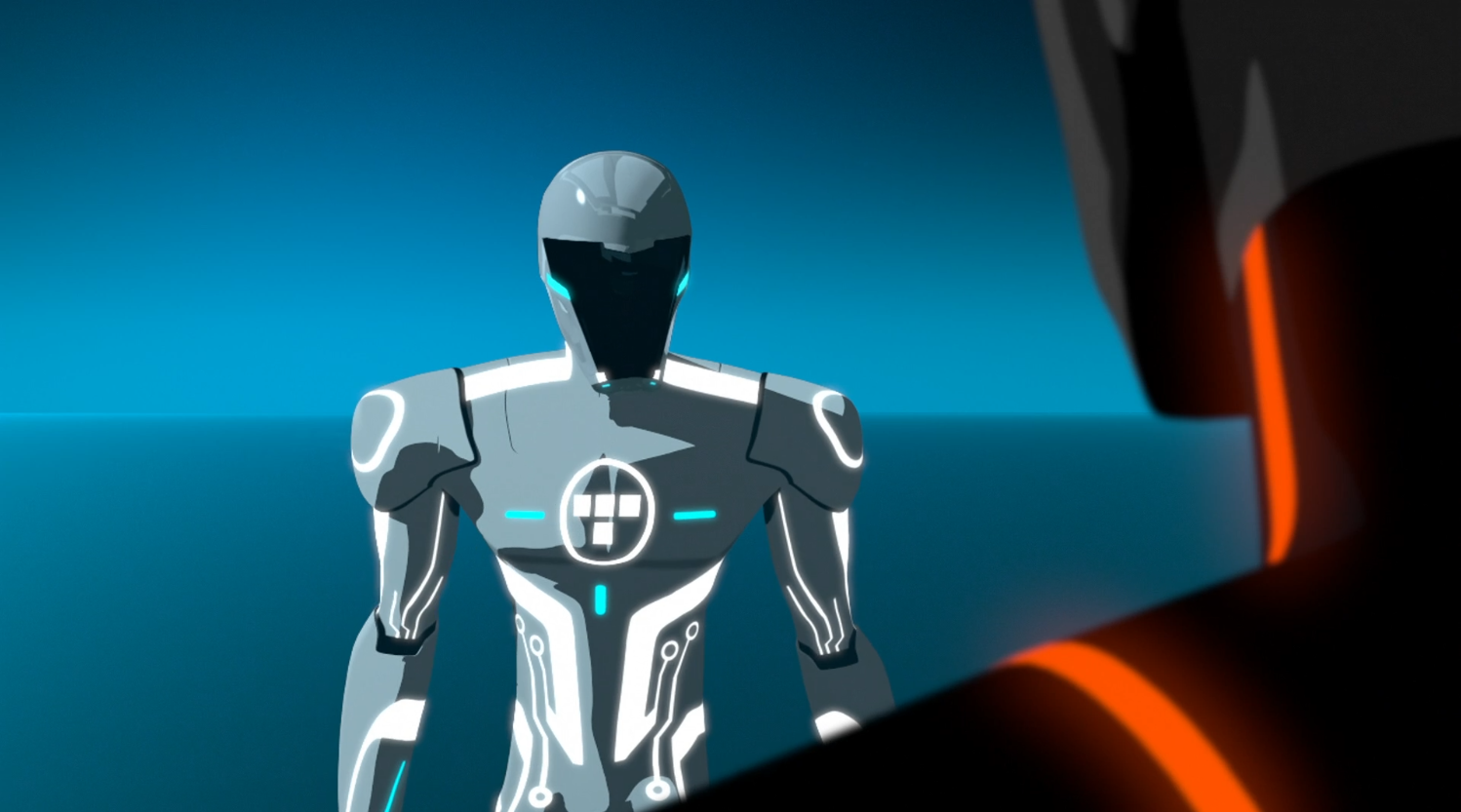Beck as the Renegade - Terminal - Terminal - Tron: Uprising