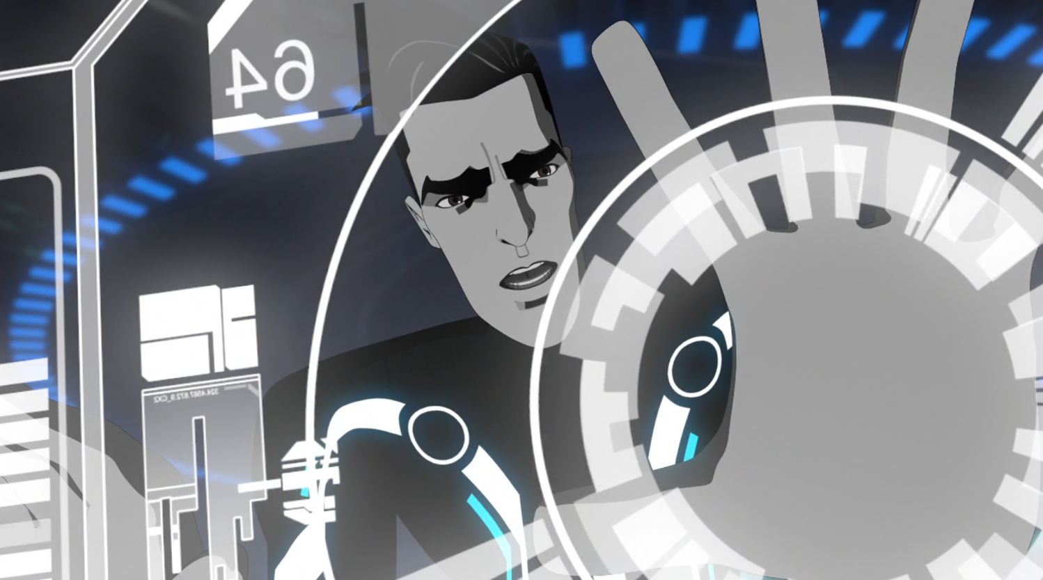 Beck tries to save Tron - Terminal - Terminal - Tron: Uprising