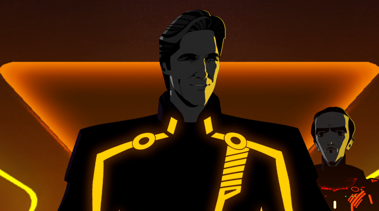 CLU and Dyson - Terminal - Terminal - Tron: Uprising