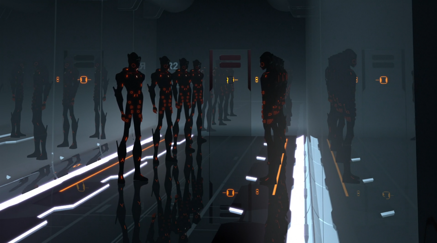 Cutler's guards - Terminal - Terminal - Tron: Uprising