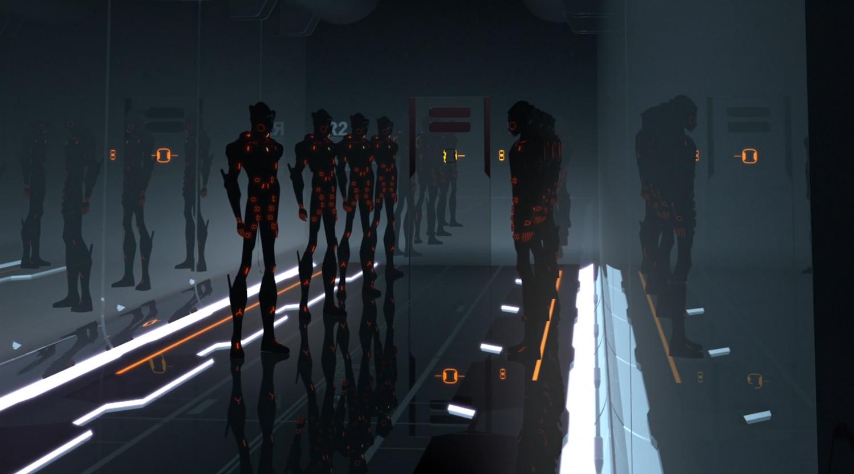 Cutler's guards - Terminal - Terminal - Tron: Uprising