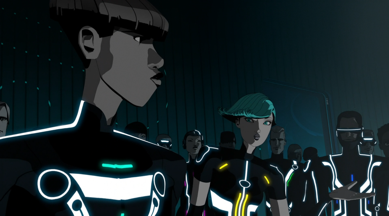Mara blames Tron - Terminal - Terminal - Tron: Uprising