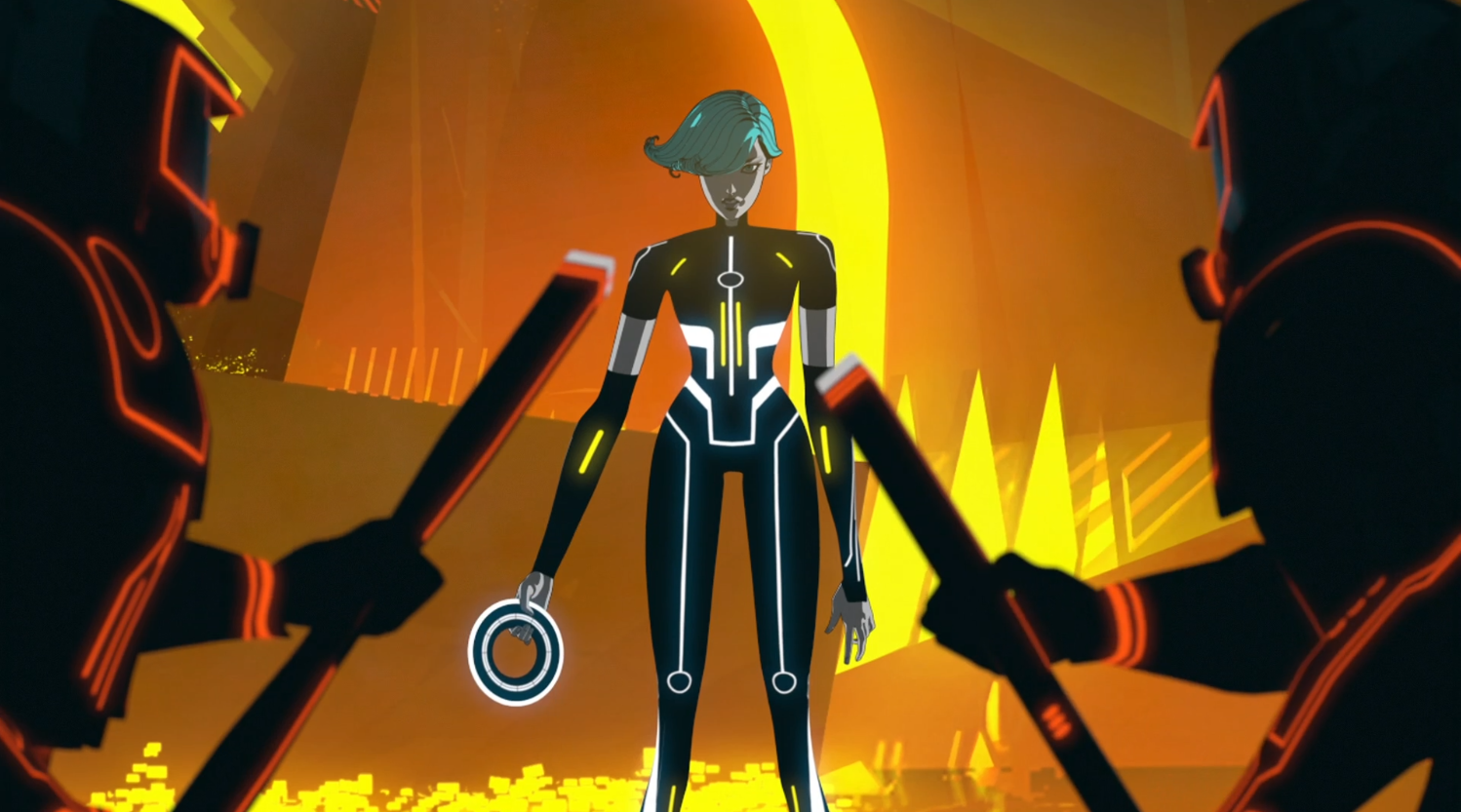 Mara starts the rebellion - Terminal - Terminal - Tron: Uprising