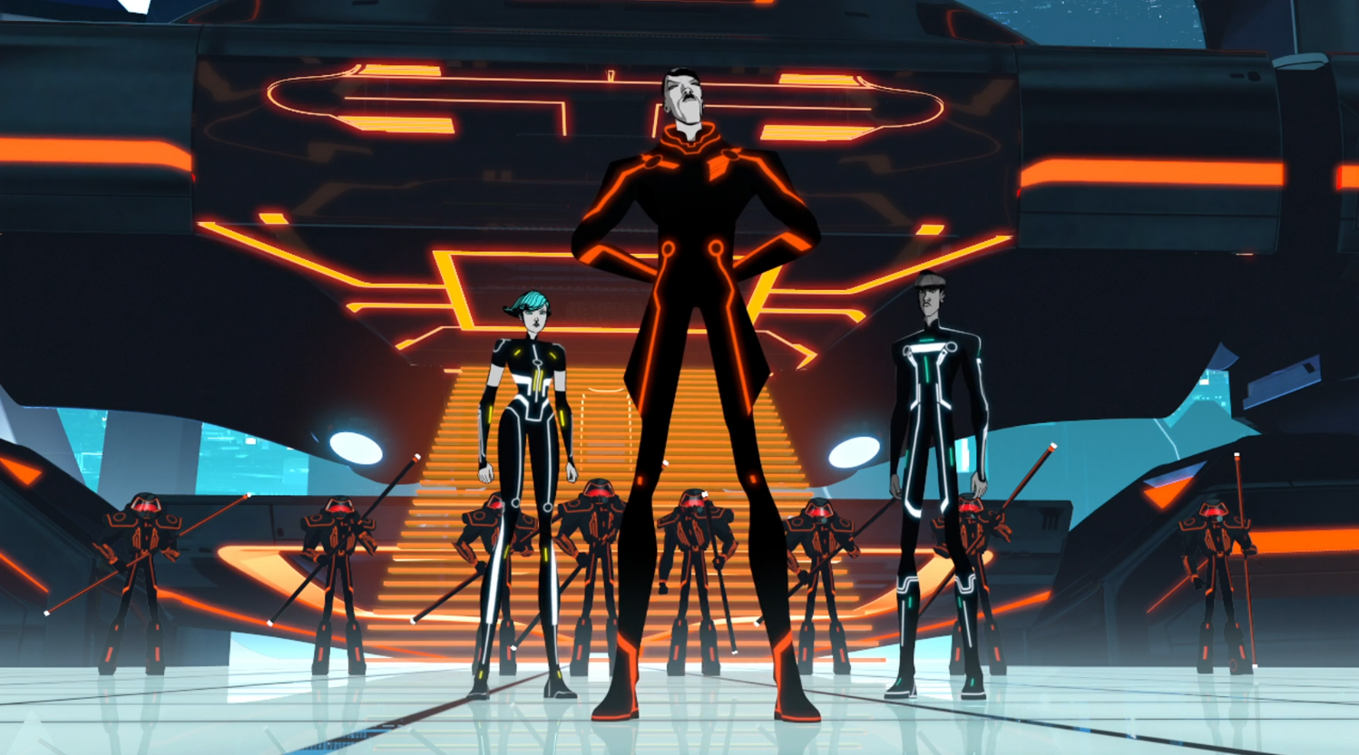 Pavel takes over Able's garage - Terminal - Terminal - Tron: Uprising