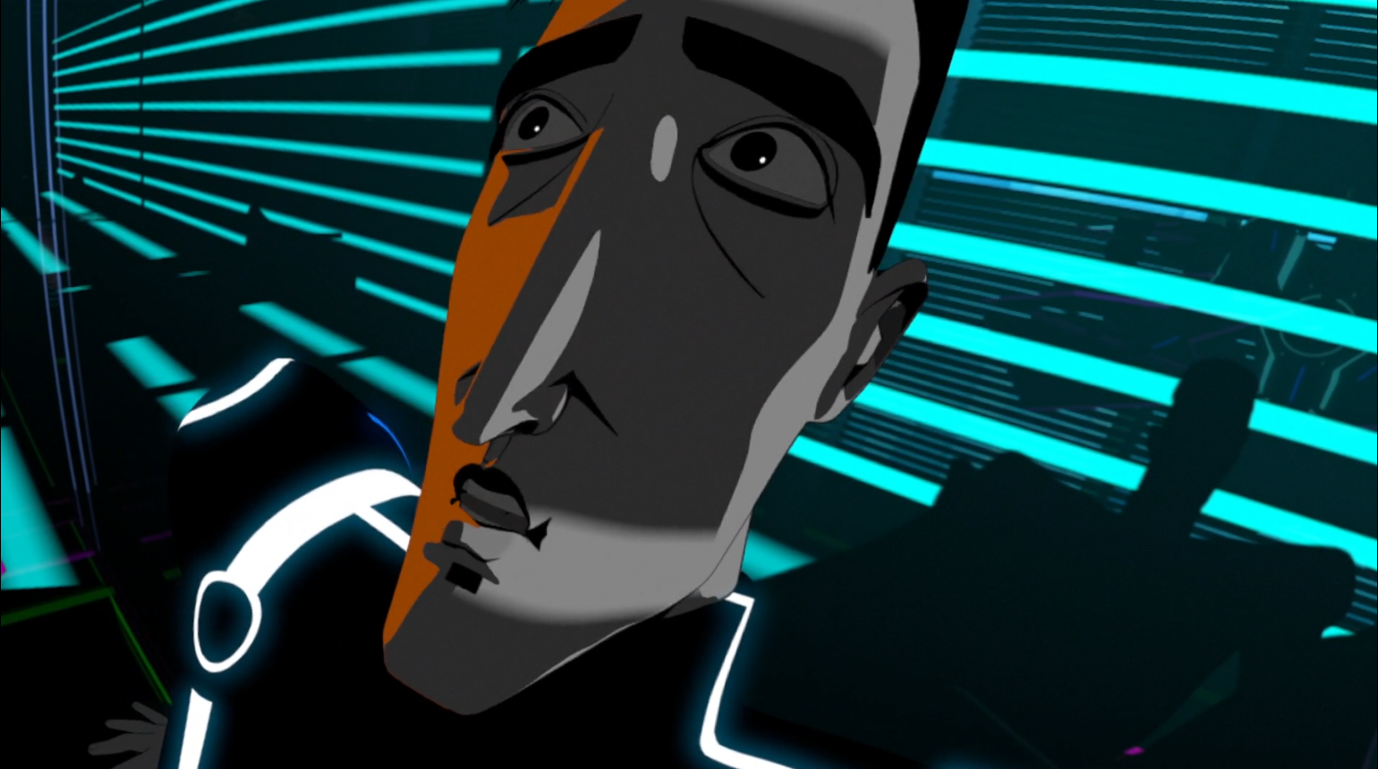 Tron Uprising - Cyrus victim