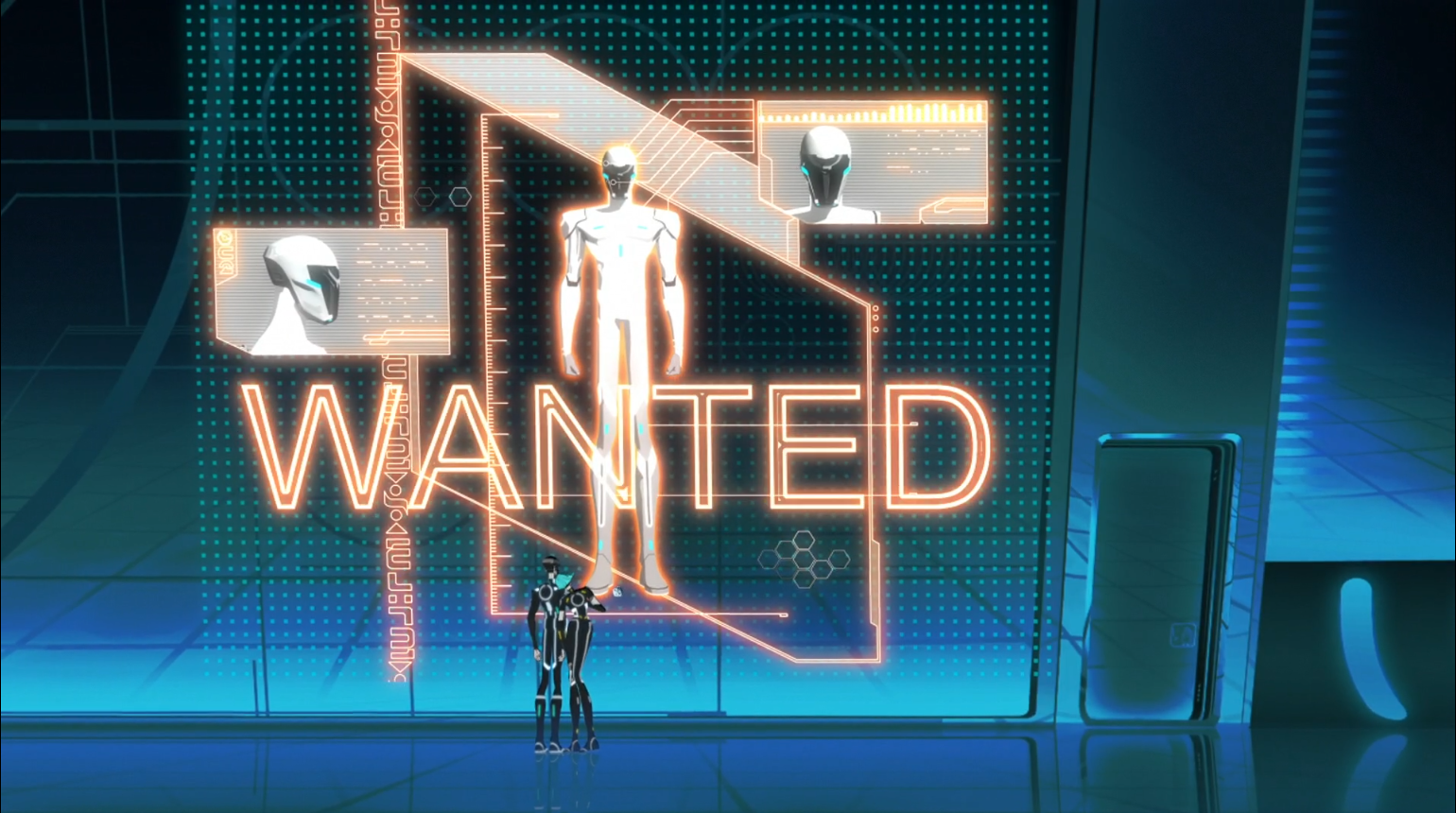 Tron Uprising - The Renegade wanted