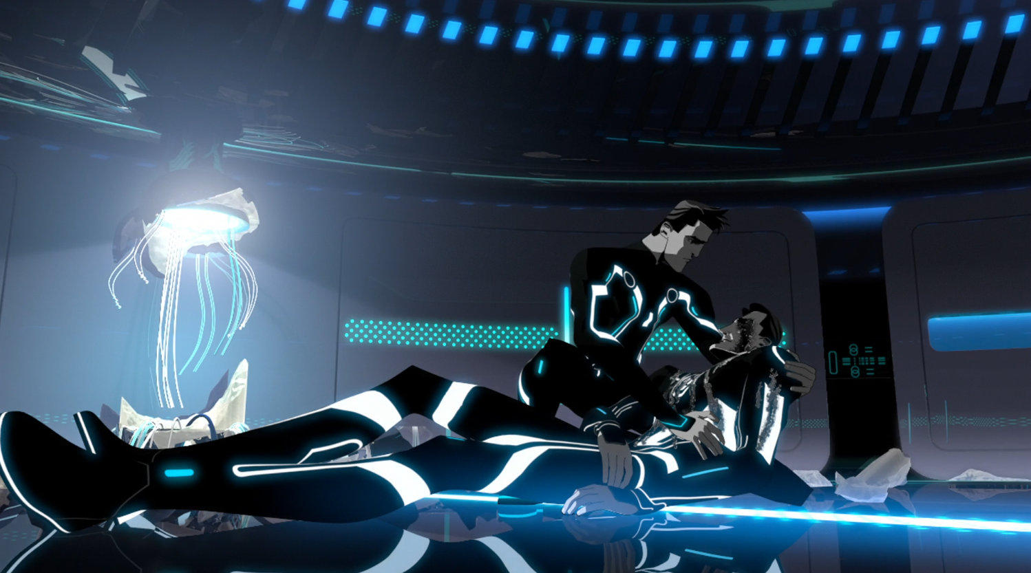 Tron dying - Terminal - Terminal - Tron: Uprising