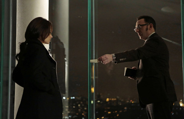 Relevance Person of Interest - Michael Emerson and Sarah Shahi