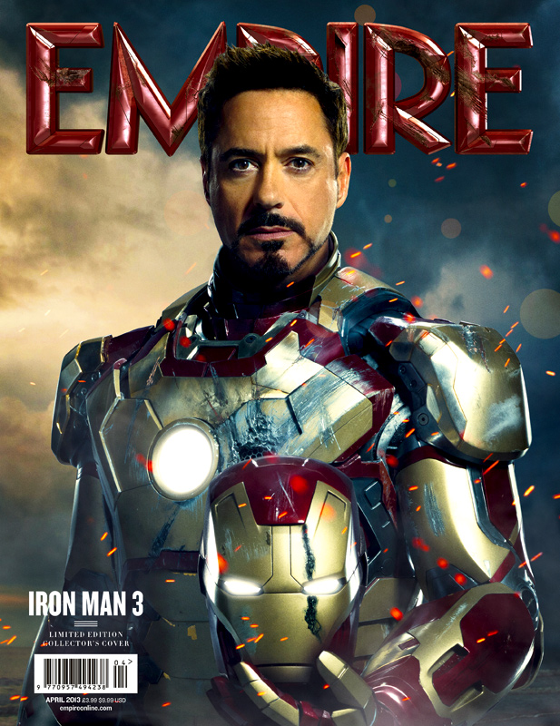 Alternate cover Iron Man Empire Magazine.