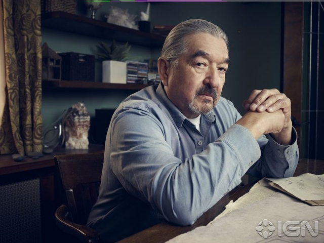 Graham Greene as mine owner Rafe McCawley - Defiance