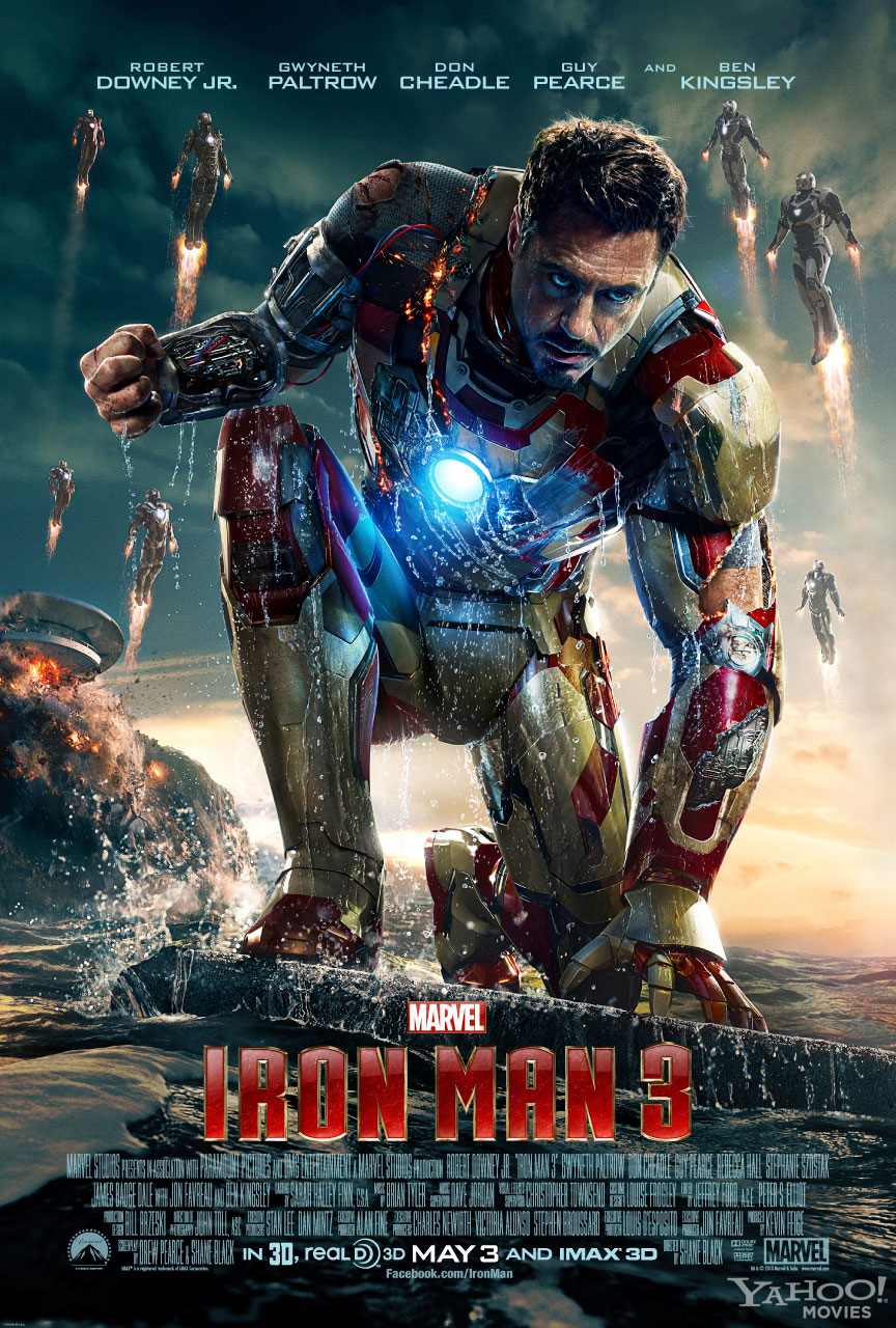 International poster Iron Man 3 - Robert Downey Jr. as Tony Stark (Iron man)