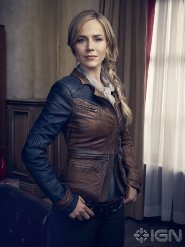 Julie Benz as Mayor Amanda Rosewater - Defiance
