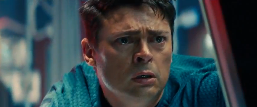 Karl Urban as Doctor Leonard McCoy (Bones) in Star Trek Into Darkness