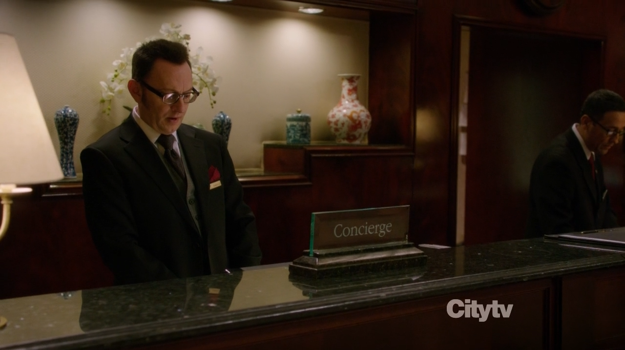 Michael Emerson as Harold Finch - Person of Interest