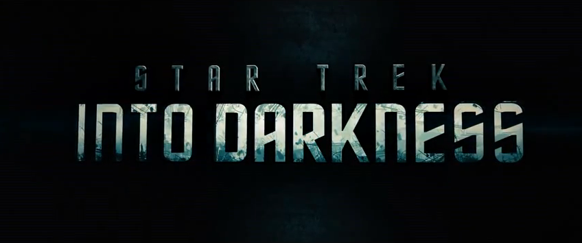 Star Trek Into Darkness Logo - poster