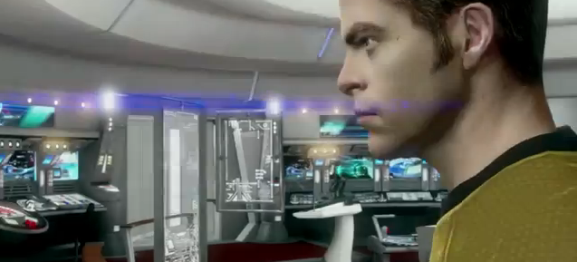 Star Trek Video Game - Captain Kirk (Chris Pine)