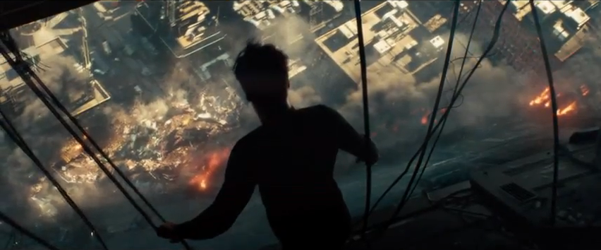 Terrorism destruction in Star Trek Into Darkness