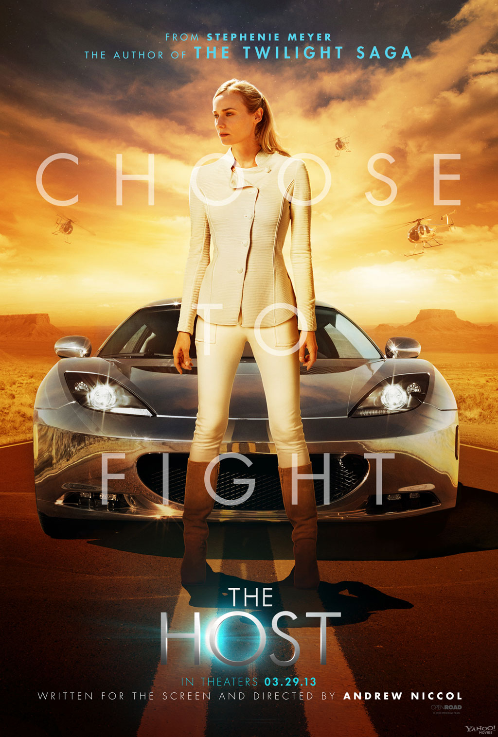 The Host poster - Andrew Niccol featuring Diane Kruger