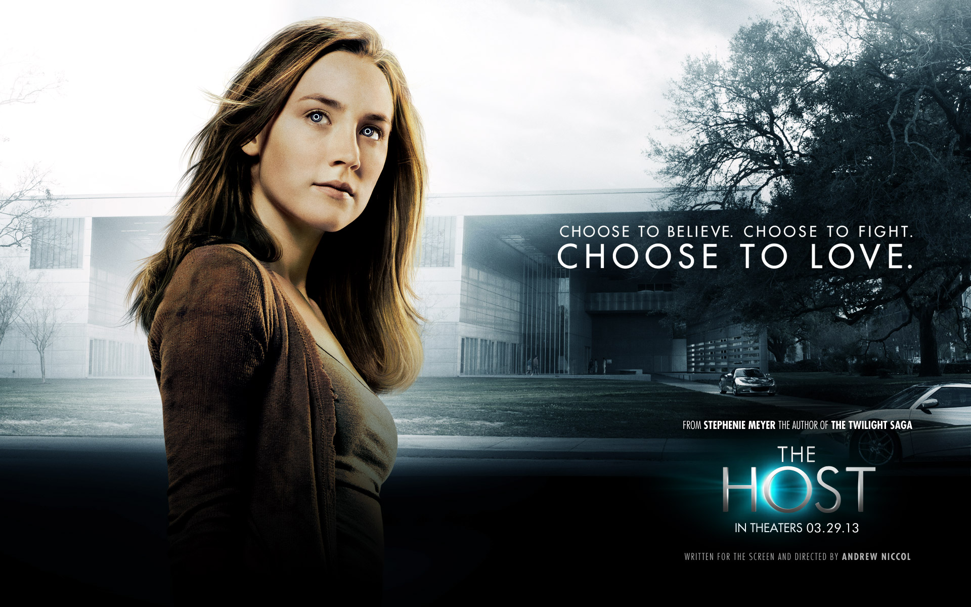 The Host wallpaper - Andrew Niccol featuring Saoirse Ronan