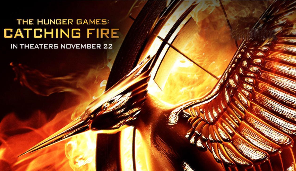 the hunger games catching fire movie logo