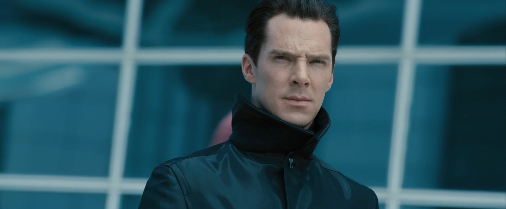 Benedict Cumberbatch as terrorist John Harrison - Star Trek Into Darkness