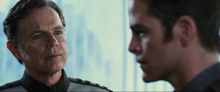 Bruce Greenwood as Admiral Pike - Star Trek Into Darkness