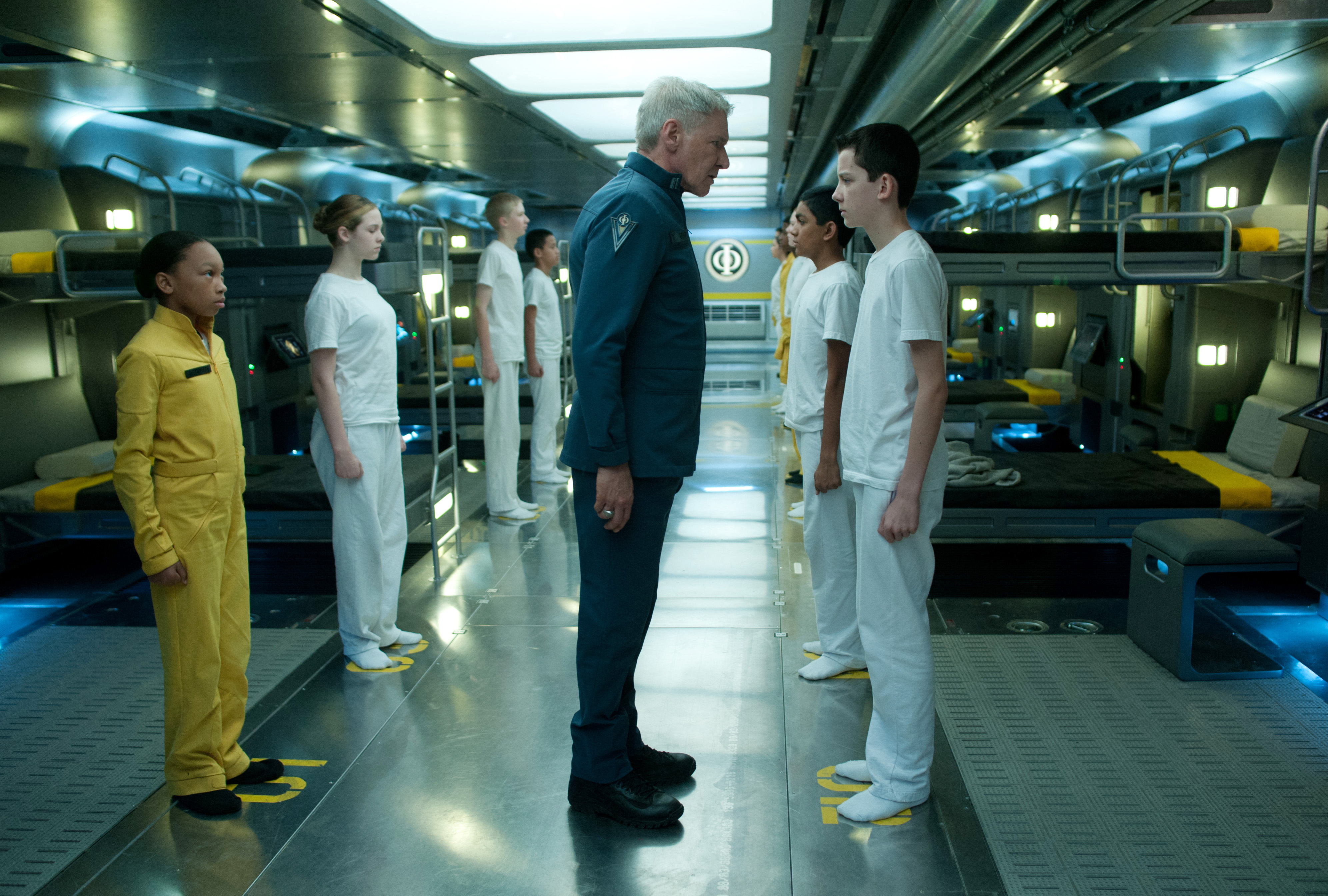 Ender's game with harrison ford and asa butterfield - scifiempire.net