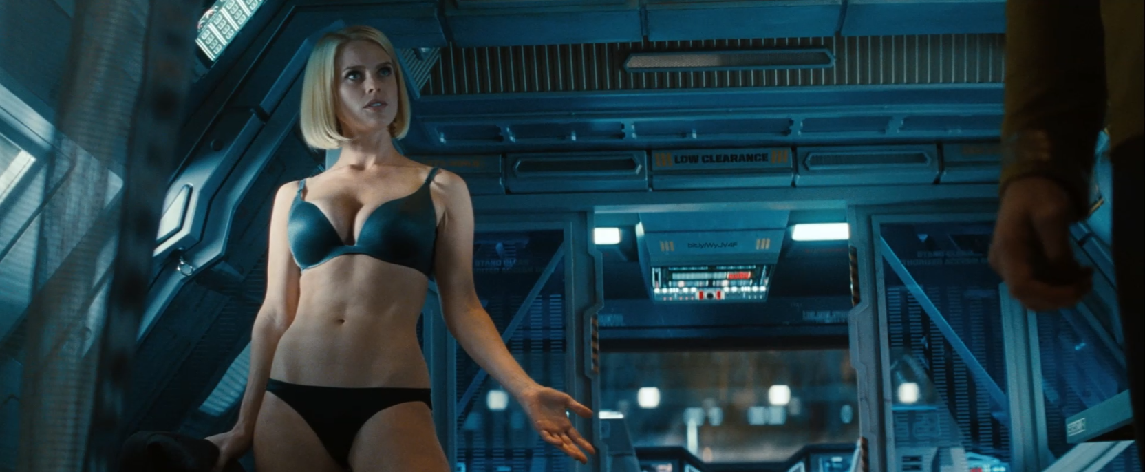 Eve Alice lingerie as Carol Marcus in Star Trek Into Darkness