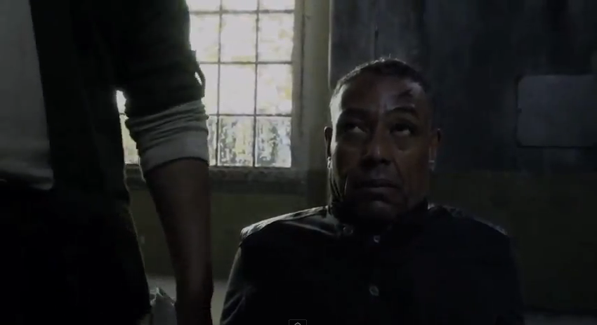 Giancarlo Esposito as Major Tom Neville captured - Revolution