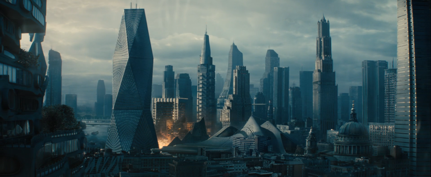 London Bombing in Star Trek Into Darkness
